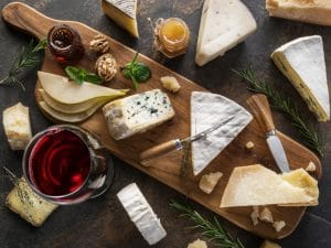 Lecker, leckerer, Food-Pairing: Käse-Wein!