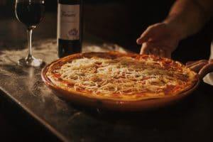 Wein liebt Pizza!